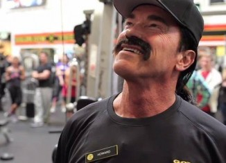 Arnold Schwarzenegger coach Howard Gold Gym
