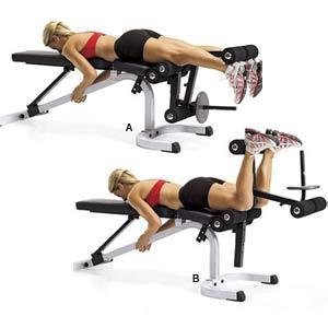 Exercice flexion jambes muscu