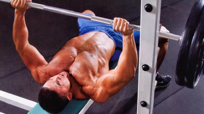 Série dégressive muscle