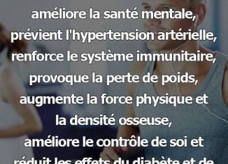 courir régulièrement santé mentale