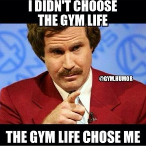 choisir la vie de gym