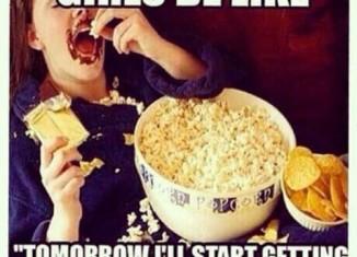 Demain je commence le régime