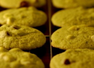 cookies au thé matcha chocolat blanc