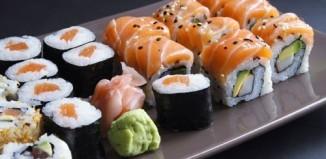 Sushi calories